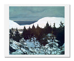 MFA Prints archival replica print of Rockwell Kent, Maine Coast, Winter from the Museum of Fine Arts, Boston collection.