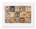 MFA Prints archival replica print of Harriet Powers, Pictorial quilt from the Museum of Fine Arts, Boston collection.
