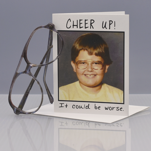 Cheer Up Encouragement Card