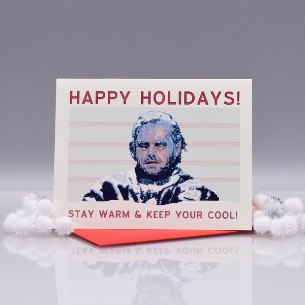 "Frozen Jack ""The Shining"" Christmas Card"