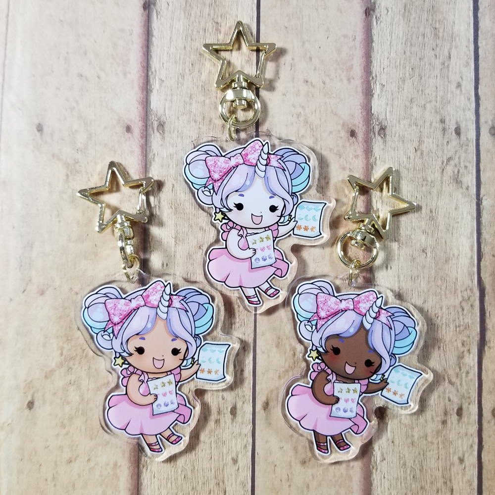 Starshine with Stickers Charms