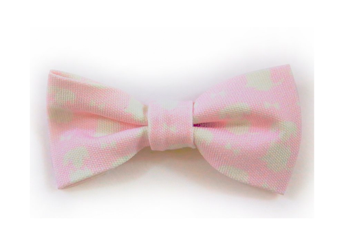 Pink Signature Print Dog Bow (for the lady pups)