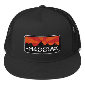 Madera Outdoor  Hats Black Patch Trucker Cap madera outdoor hammock companies that plant trees best camping hammocks cheap camping hammocks cheap hammocks cheap backpacking hammocks