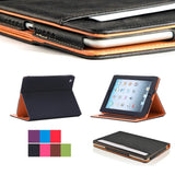 Leather iPad Smart Case Cover / Stand (Various Models)