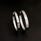 LOVE Titanium Steel Lovers Bracelet