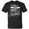 When You Have Worry (Matthew 6:34) Cotton Shirt-Apparel-Our Lord Style