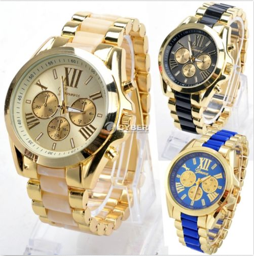 Classic Luxury Men Stainless Steel Quartz  Waterproof Watch-offer