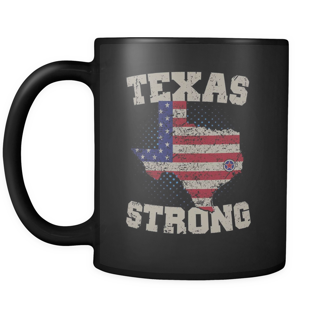 Texas Strong, Houston Strong Coffee-Mug!