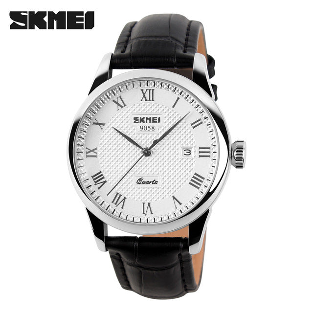 Luxury Brand Fashion& Casual Leather Women, Men Dress Watches!