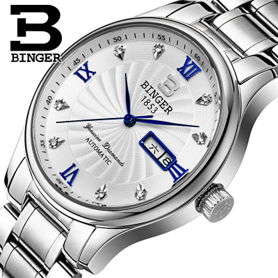 Famous Switzerland Binger Quartz Brand Wristwatch!
