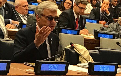 THE VICE PRIME MINISTER OF BELGIUM PRESENTED THE PROJECT SEA2SEE AT THE UNITED NATIONS