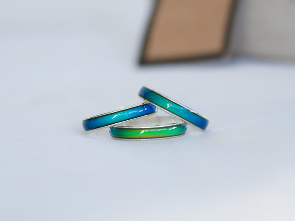 Amazingly Thin Colour Changing Mood Ring