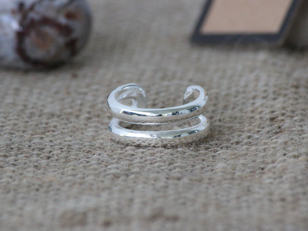 925 Sterling Silver Layered Inspired Ring