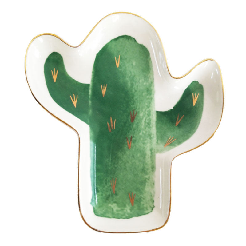 Cactus Trinket Dish - The Chic Nest