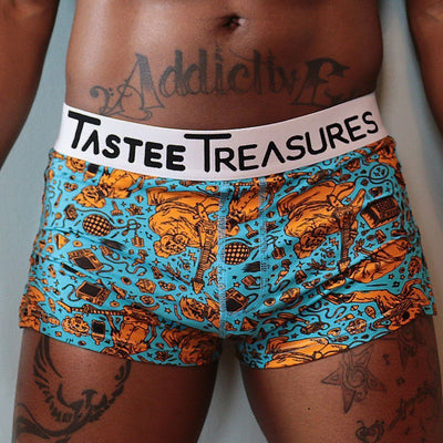 Hard Rocker Trunks  -  trunks - TasteeTreasures