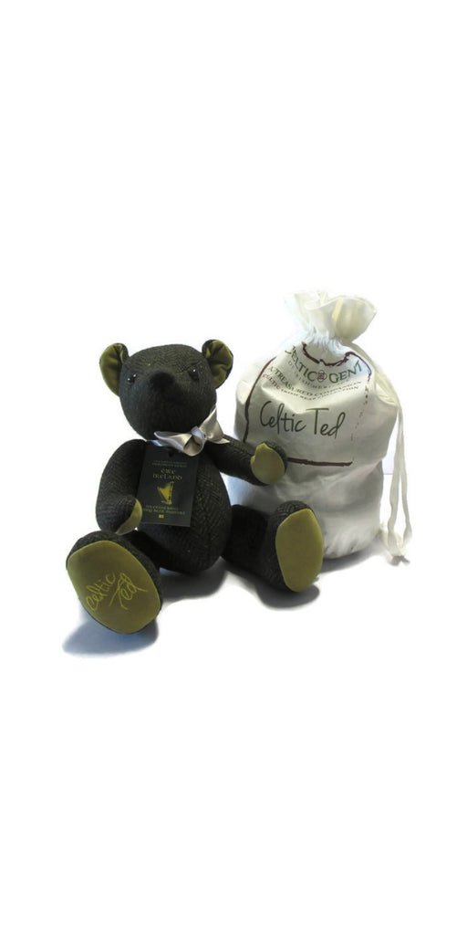 Celtic Ted Tweed Teddy Bear