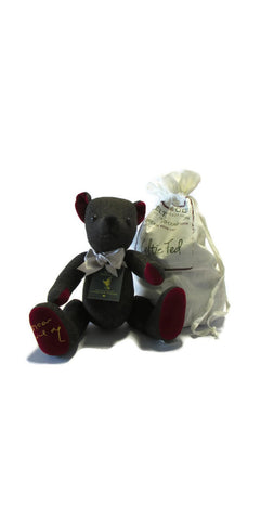 Oscar Wilde Tweed Teddy Bear