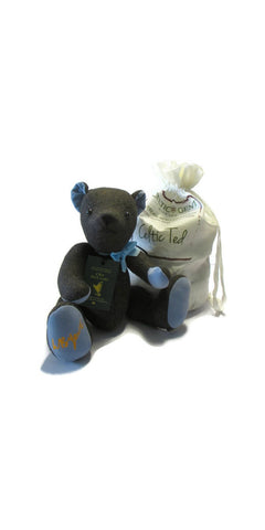 W.B. Yeats Tweed Teddy Bear
