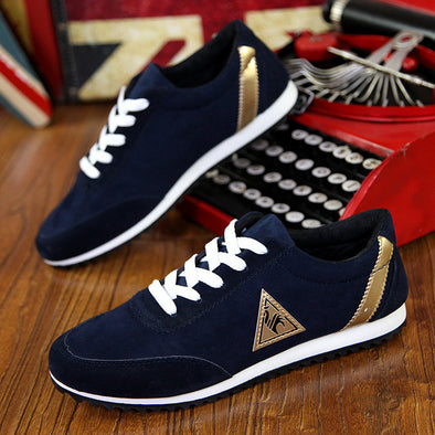 Mens canvas shoes Casual Breathable Shoes flat shoes - Hippie BLiss