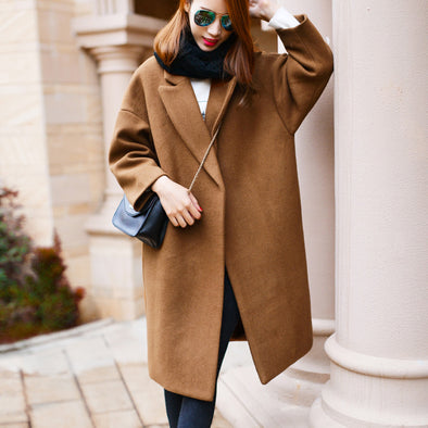 Oversized Wool Coat Trench coats