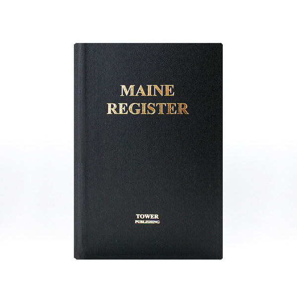Maine Register from Tower Publishing