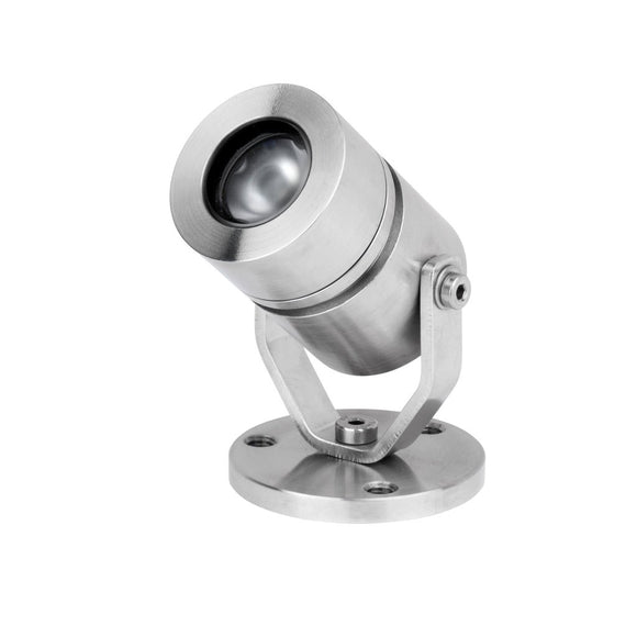 Adjustable bracket light LV-SS804 316 marine grade stainless steel - Light Visuals