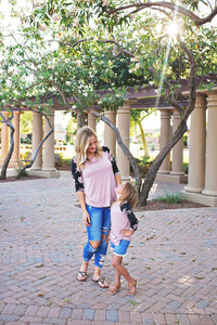 Mommy & Me Raglan Tops