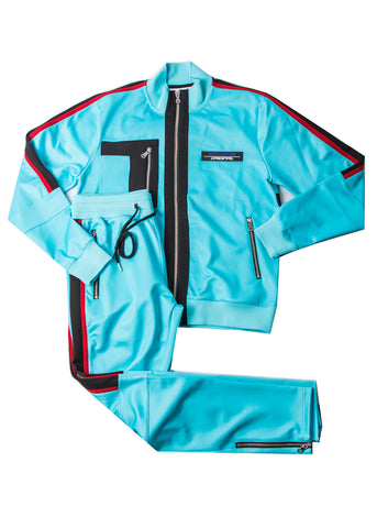 Odell (SkyBlue) Track Suit