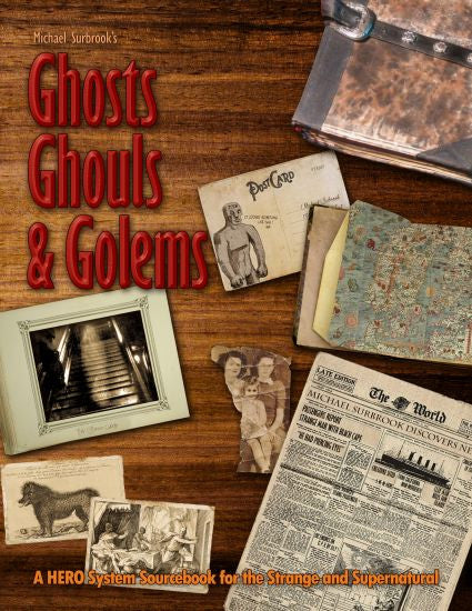 Michael Surbrook's Ghosts, Ghouls, and Golems is over the top on Kickstarter