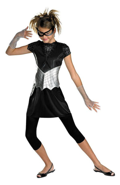 Teen Black-Suited Spidergirl Costume