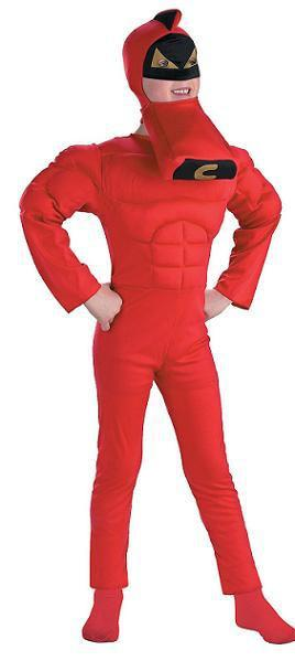 Kids Crimson Chin Muscle Costume