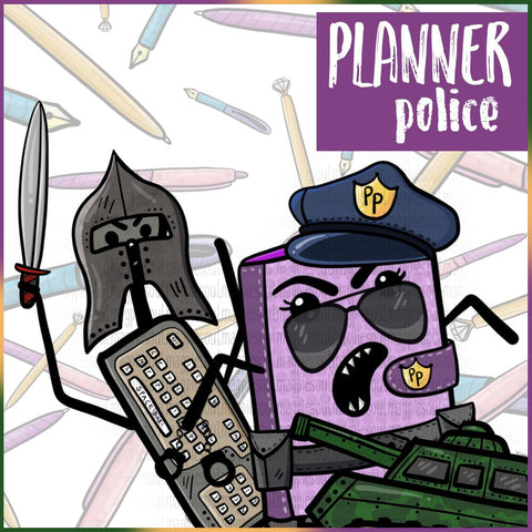 PLANNER POLICE COLLECTION