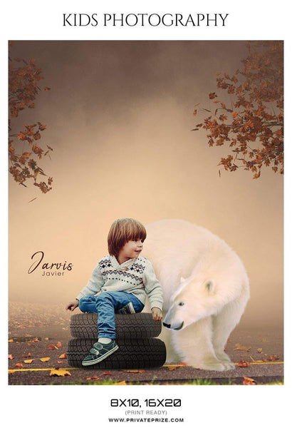 Jarvis Javier - Kids Photography Photoshop Templates