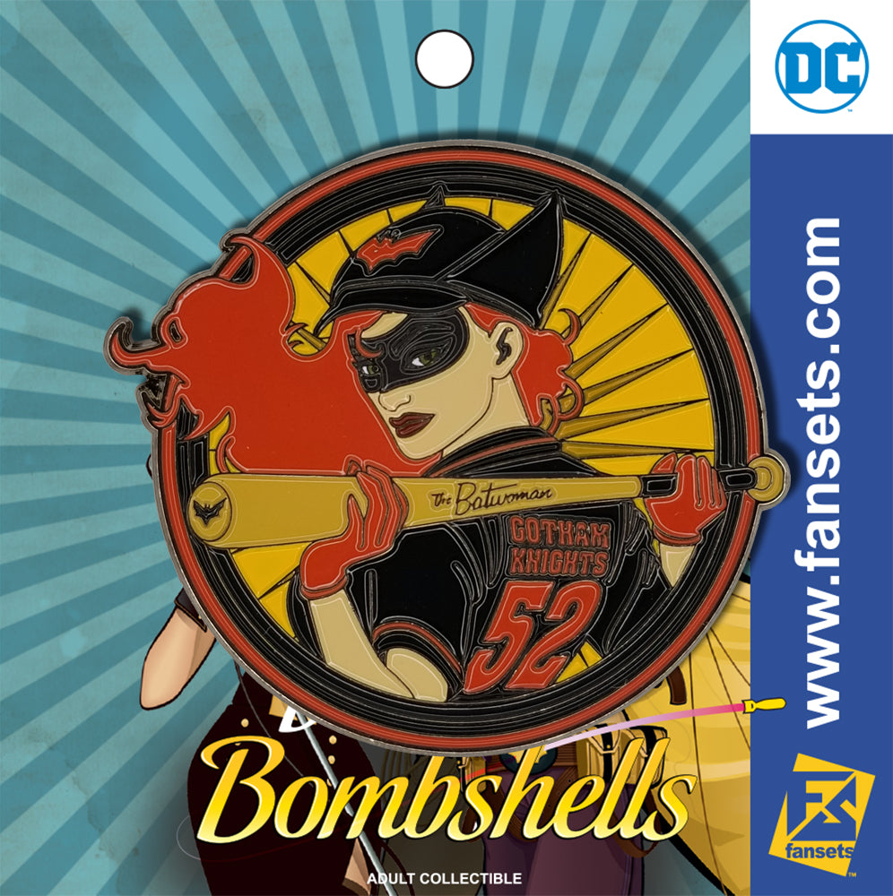 DC Comics DC Bombshells Badge BATWOMAN Licensed FanSets Pin MicroChracters