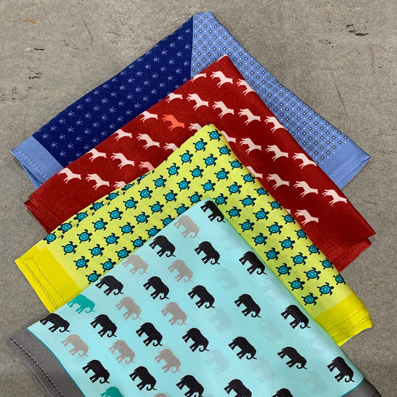 Animal Collection Pocket Squares