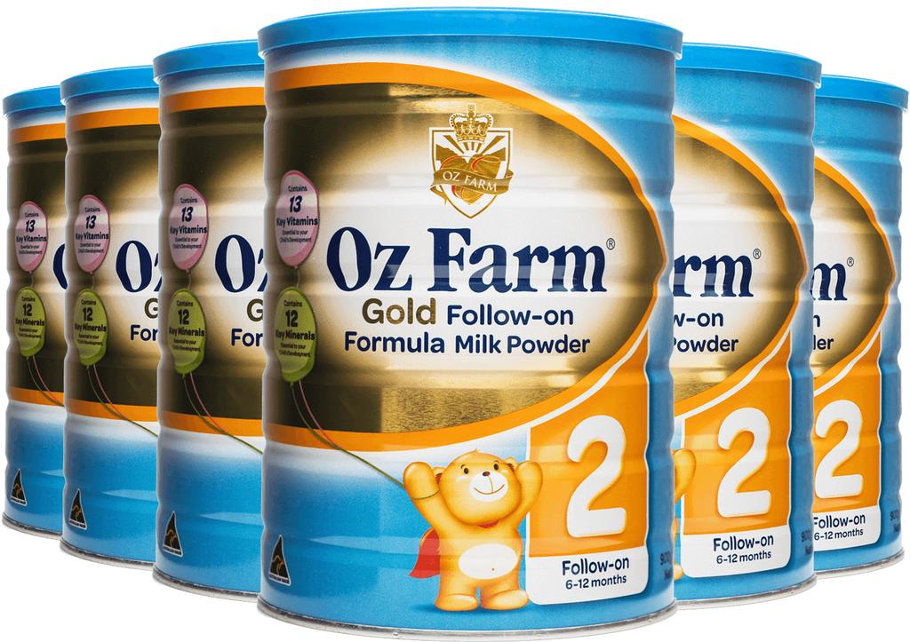 OZ Farm Gold Follow-on Formula (6 * 900g)