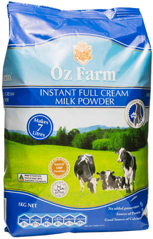 Oz Farm Instant Full Cream Milk Powder 1KG