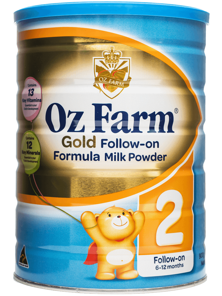 OZ Farm Gold Follow-on Formula (Boxed, 6 Cans, 900g Each)