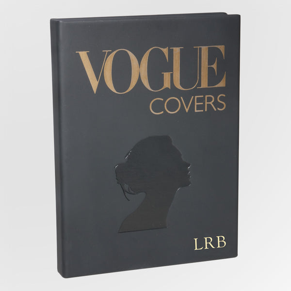 personalized book of Vogue covers