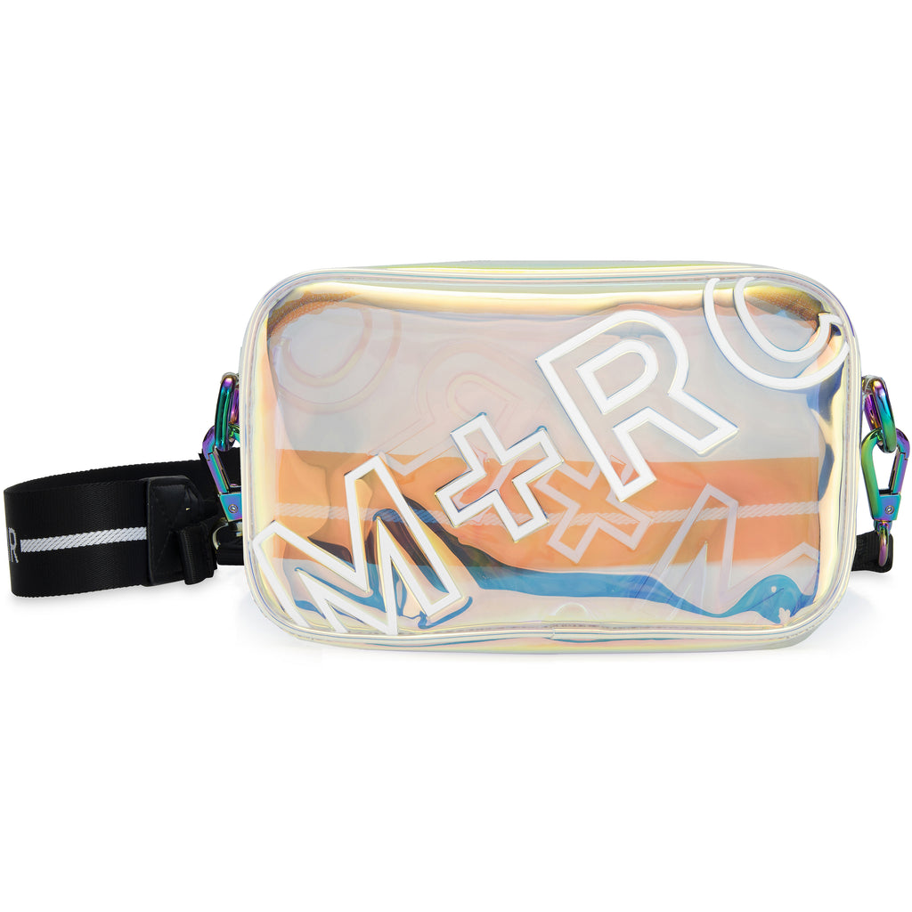 M+RC NOIR OVERDUE TRANSPARENT RAINBOW SHOULDER BAG