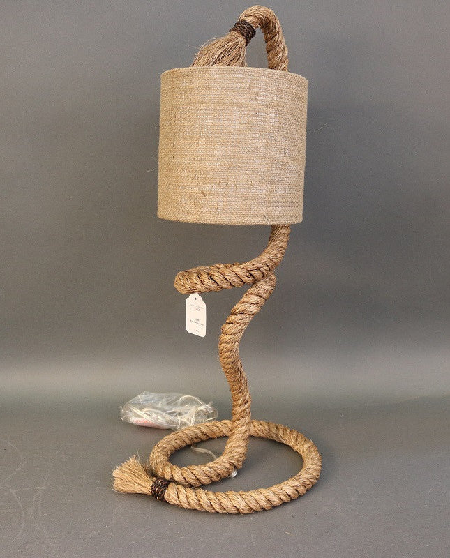 Spiral Rope Lamp