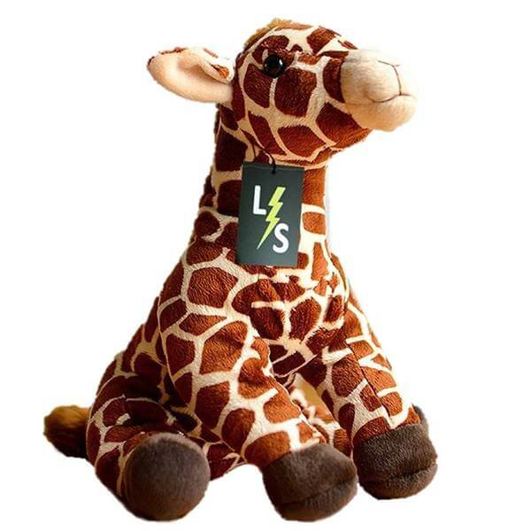 LightningStore Adorable Cute Sitting Baby Giraffe Stuffed Animal Doll Realistic Looking Plush Toys Plushie Children's Gifts Animals