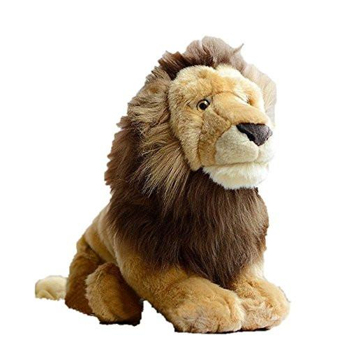 Toy - LightningStore African Lion Dolls Realistic Looking Stuffed Animal Plush Toys Plushie Children's Gifts Animals