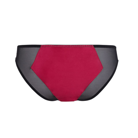 Emma Harris Renée Raspberry Brief - Product Back - Beautifully Undressed