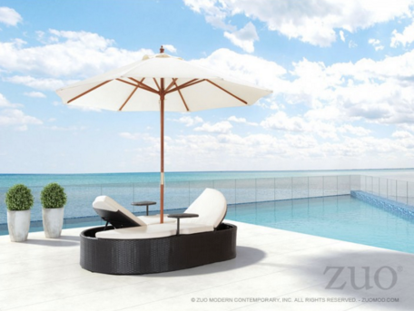Modern Chaise Lounge Chairs Commercial Outdoor Furniture