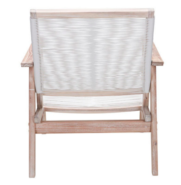 Coastal Zuo Modern Southport Outdoor Armchair Patio Furniture