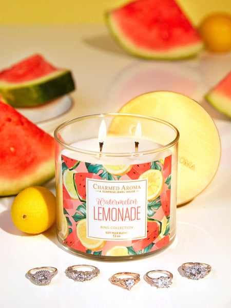 Watermelon Lemonade Candle - Classic Ring Collection