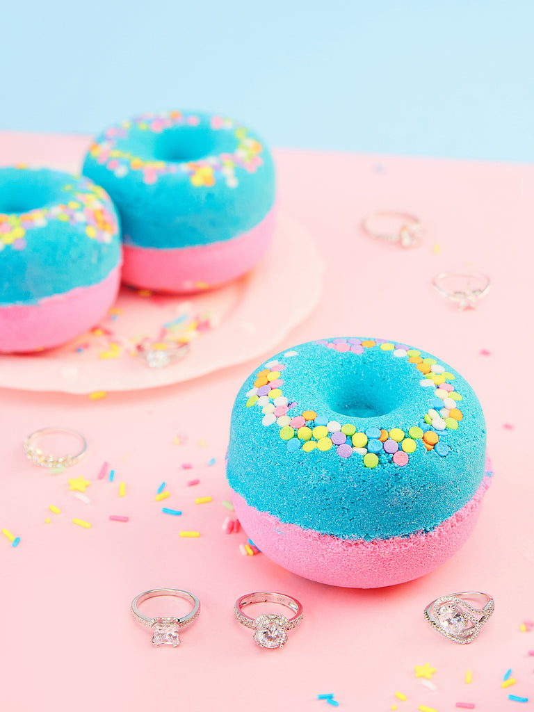 Sprinkled Donut Bath Bomb - Classic Ring Collection