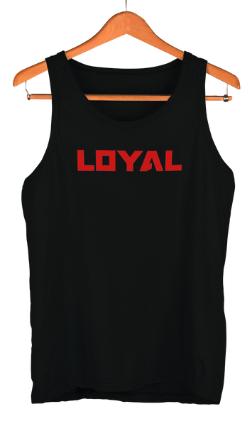 red loyal logo tank theloyalbrand