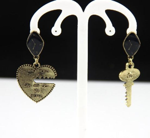 Crystal Handcuff Drop Earrings